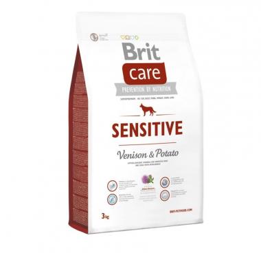 Brit (Брит) Care Sensitive Venison & Potato сухой корм с олениной для взрослых собак с чувствительным пищеварением