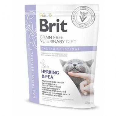 Brit (Брит) Veterinary Diets Cat Gastrointestinal сухой корм для котов при остром и хроническом гастроэнтерите