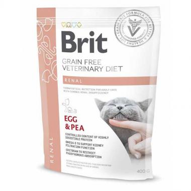Brit (Брит) Veterinary Diets Cat Renal сухой корм для котов при хронической почечной недостаточности