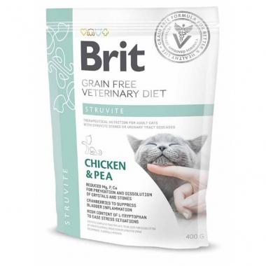Brit (Брит) Veterinary Diets Cat Struvite сухой корм для котов при мочекаменной болезни