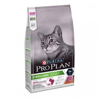 Pro Plan Sterilised Duck & Liver Сухой корм с уткой и печенью для взрослых кастрированных стерилизованных котов и кошек