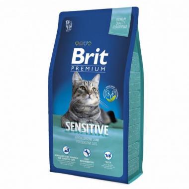 Brit Premium (Брит премиум) Cat Sensitive сухой корм для кошек с чувствительным пищеварением