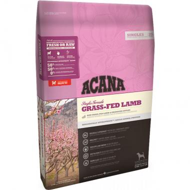 Acana Grass-Fed Lamb Сухой корм с ягненком и яблоками для взрослых собак всех пород