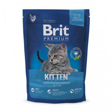 Brit Premium (Брит премиум) Cat Kitten сухой корм с курицей для котят