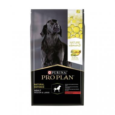 PURINA PRO PLAN Nature Elements Medium & Maxi Adult сухой корм с говядиной и оливковым маслом для взрослых собак средних и крупных пород
