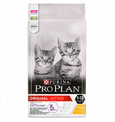 Purina Pro Plan Junior Chicken & Rice сухой корм для котят с курицей