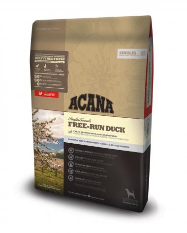 Acana Free-Run Duck Сухой корм с уткой, для взрослых собак всех пород