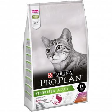 Pro Plan Sterilised Rabbit сухой корм с кроликом для взрослых кастрированных кошек и котов