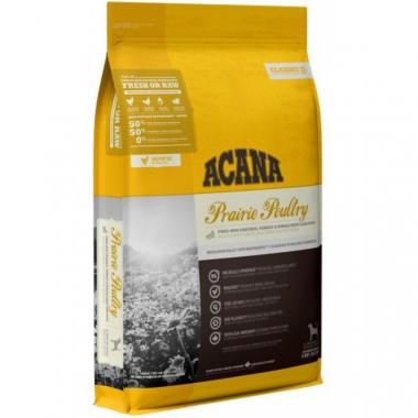 Acana (Акана) Prairie Poultry Сухой корм с индейкой и цыпленком, для взрослых собак и щенков всех пород и возрастов