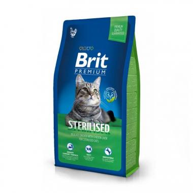 Brit Premium (Брит премиум) Cat Sterilised сухой корм для стерилизованных кошек и кастрированных котов
