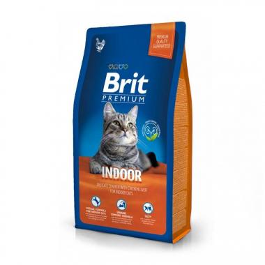 Brit Premium (Брит премиум) Cat Indoor сухой корм для взрослых домашних кошек