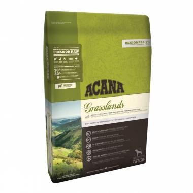 Acana Grasslands, ягненок + яйцо Сухой корм холистик для взрослых собак и щенков всех пород и возрастов