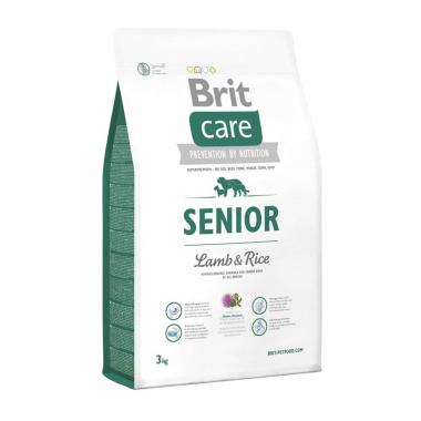 Brit (Брит) Care Senior Lamb сухой корм с ягненком и рисом для пожилых собак всех пород