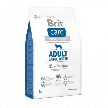 Brit (Брит) Care Adult Large Breed Lamb&Rice сухой корм с рисом и ягненком для взрослых собак крупных пород, весом от 25кг