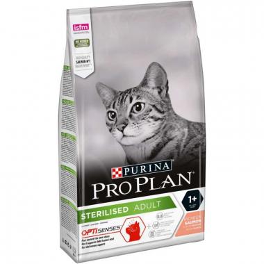 Purina Pro Plan After Care with Salmon сухой суперпремиум корм для взрослых стерилизованных кошек и кастрированных котов с лососем